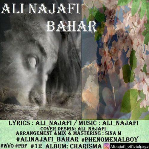 دانلود آهنگ جدید علی نجفی به نام بهار